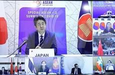 """Cooperación ASEAN-Asia Oriental es la """"llave"""" para hacer frente al COVID-19, afirma premier japonés"""