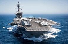 Descartan vinculación del brote en buque USS Theodore Roosevelt con la visita a Vietnam