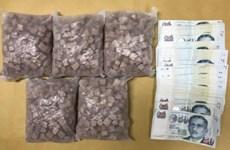 Detienen en Singapur red de narcotráfico