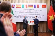 Vietnam realiza vuelo especial para repatriar turistas italianos y buscar sus ciudadanos