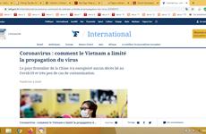 """Expone Le Figaro """"receta"""" vietnamita para limitar la propagación del COVID-19"""