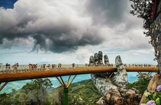 Puente Dorado de Vietnam entre los viaductos más impresionantes del mundo