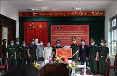 Vietnam continúa asistiendo a provincias laosianas en lucha contra el COVID-19