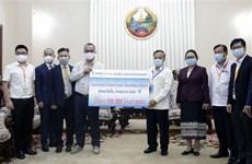 Vietnam muestra solidaridad con Laos en la lucha contra el COVID-19