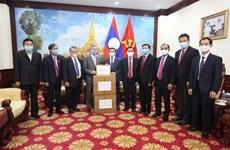 Vietnam presenta suministros médicos al pueblo de Laos