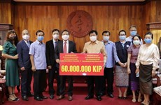 Vietnam acompaña a Laos en lucha contra COVID -19