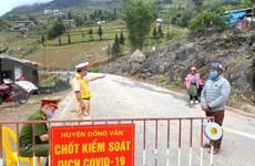 Provincia vietnamita de Ha Giang levanta cuarentena a municipio Dong Van y caserío Ta Kha