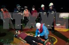 Rescatan en provincia vietnamita a marinero filipino accidentado en el mar