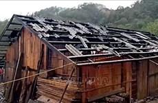 Lluvias causan graves daños en provincias montañosas del norte de Vietnam