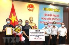 Empresas tailandesas apoyan a provincia vietnamita en lucha contra el COVID-19