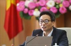 Vicepremier vietnamita exhorta a mantenerse alertas en combate contra el COVID-19