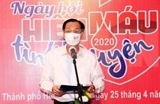 """Celebran """"Día de Donación voluntaria de Sangre"""" en Ciudad Ho Chi Minh"""
