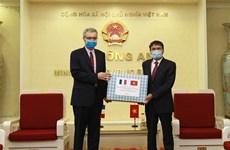 Promueven lazos Ministerios de Seguridad de Vietnam y Francia