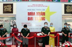 """Exposición """"Primavera de la Gran Victoria"""" conmemora 45 años de reunificación de Vietnam"""