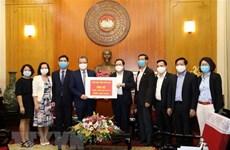 Comunidad internacional apoya a Vietnam en lucha contra epidemia de COVID-19
