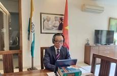 Vietnam y la India estudian cooperación comercial en etapa postpandémica