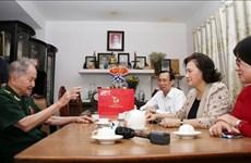 Presidenta del Parlamento visita a Madres Heroicas en Ciudad Ho Chi Minh