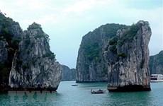 Reanudan servicios turísticos en la Bahía de Halong