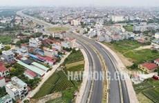 Abierta al tráfico vía arterial de ciudad vietnamita de Hai Phong