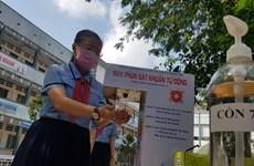 Lanzan en Vietnam concurso de diseño de lavadoras automáticas de manos
