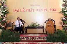 Felicita vicepremier permanente de Vietnam a seguidores budistas por Día de Vesak