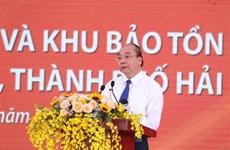 Asiste premier vietnamita a inauguración del proyecto de preservación de reliquias históricas