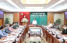 Sopesa Partido Comunista de Vietnam expulsión de ex altos funcionarios de sus filas