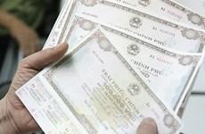 Baja movilización de bonos gubernamentales de Vietnam en abril