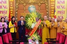 Felicitan dirigentes de Hanoi a Sangha Budista de Vietnam por el Día de Vesak