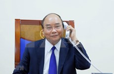 Primer ministro de Vietnam conversa con presidente de Estados Unidos