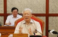Debaten preparación del personal para el XIII Congreso del Partido Comunista de Vietnam