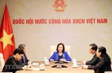 Fortalecen parlamentos de Laos y Vietnam cooperación en lucha antipandémica