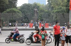 Disminuyen visitantes a Hanoi por impactos del COVID-19