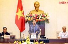 Sesiona la 45 reunión del Comité  Permanente de Asamblea Nacional de Vietnam