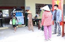 Ciudad Ho Chi Minh asiste a personas afectadas por el COVID-19