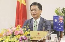 Vietnam y Australia planean impulsar cooperación comercial tras epidemia