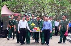 Celebra Vietnam acto de entierro de mártires caídos por defensa de frontera nacional