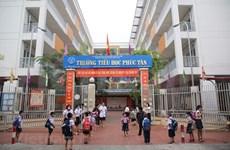 Escuelas de Hanoi reabren sus puertas