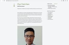 Profesor vietnamita gana premio de la Sociedad Europea de Matemáticas