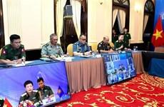 ASEAN intensifica la cooperación en defensa para responder a la epidemia