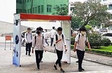 Diseñan estudiantes vietnamitas arco de desinfección para el COVID-19