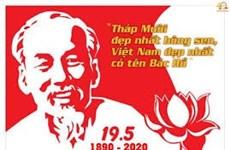 Conmemorarán 130 aniversario del natalicio del Presidente Ho Chi Minh en su tierra natal