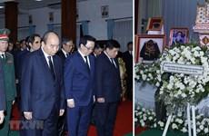 Asiste premier de Vietnam a funeral de Estado de expremier de Laos