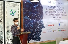 Ciudad Ho Chi Minh lanza concurso de innovación, creación y aplicación de inteligencia artificial