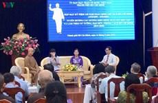 Honran a ejemplos destacados en seguimiento de ideología de Ho Chi Minh