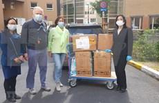 Ciudadana vietnamita brinda aportes a la lucha contra COVID -19 en Bélgica