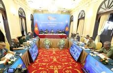 Inauguran conferencia en línea de altos funcionarios de Defensa de ASEAN