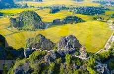 Realizarán semana turística de Ninh Binh en Tam Coc- Trang An
