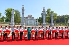 Inauguran un templo dedicado a los antepasados del Presidente Ho Chi Minh