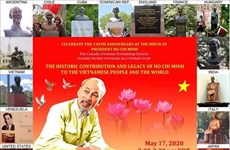 Conmemoran en Canadá aniversario 130 del natalicio del Presidente Ho Chi Minh